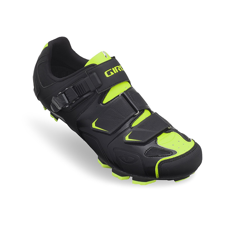 Giro Cycling Shoes Gauge Black Highlight Yellow MTB Mountain Bike New