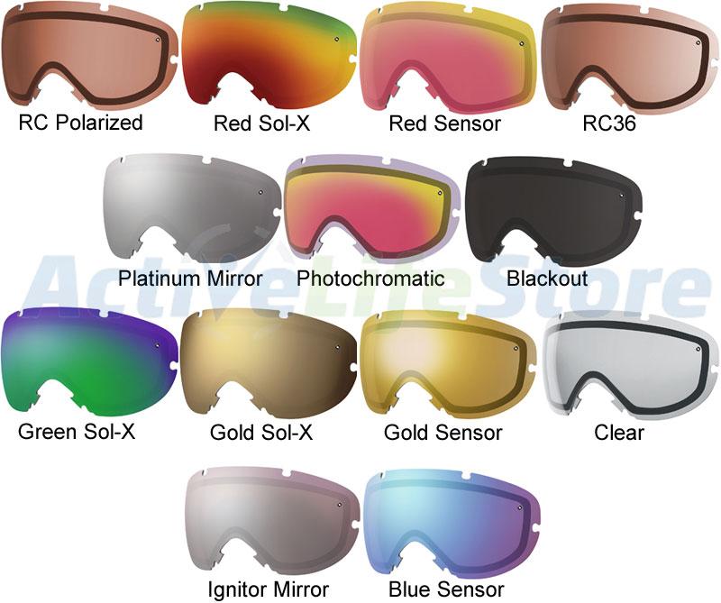 Smith Goggles Replacement Lenses : Smith optics i os replacement lens lenses for snowboard