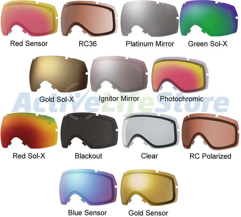 Smith Optics I Ox Replacement Lens Lenses For Snowboard